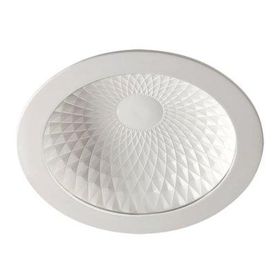 Встраиваемый светильник Novotech 357496 GESSOКруглые<br><br><br>Цветовая t, К: 3000К<br>Тип лампы: LED<br>MAX мощность ламп, Вт: 40LED SMD2835 7Вт<br>Оттенок (цвет): белый