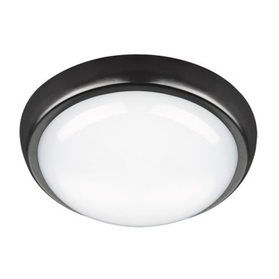 Светильник светодиодный Novotech 357507 OPALКруглые<br><br><br>S освещ. до, м2: 10<br>Цветовая t, К: 4000К<br>Высота, мм: 82.5<br>Оттенок (цвет): черный<br>MAX мощность ламп, Вт: 108LER SMD2835 24W