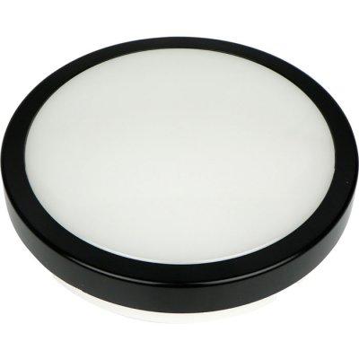 Светильник светодиодный Novotech 357513 OPALКруглые<br><br><br>S освещ. до, м2: 10<br>Цветовая t, К: 4000К<br>Цвет арматуры: черный<br>Высота, мм: 63<br>Оттенок (цвет): черный<br>MAX мощность ламп, Вт: 84LED SMD2835 24W