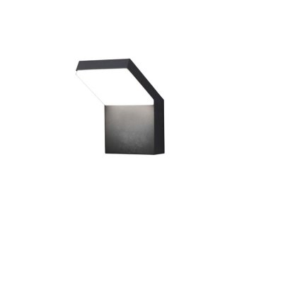Ландшафтный светодиодный светильник Novotech 357520 ROCAУличные настенные светильники<br><br><br>Цветовая t, К: 3000K<br>Ширина, мм: 140<br>Высота, мм: 220<br>Оттенок (цвет): темно-серый<br>MAX мощность ламп, Вт: 100LED SMD2835 20W