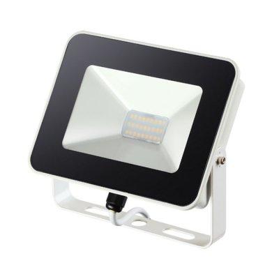 Прожектор светодиодный Novotech 357526 ARMINСветодиодные прожекторы<br><br><br>Цветовая t, К: 4000K<br>Ширина, мм: 150<br>Высота, мм: 40<br>Оттенок (цвет): белый с белым проводом<br>MAX мощность ламп, Вт: 27LED SMD2835 20W