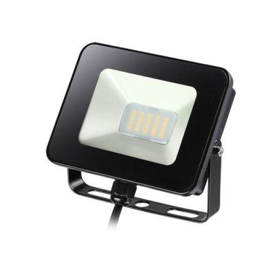 Прожектор светодиодный с датчиком движения Novotech 357531 ARMINCветодиодные<br><br><br>Цветовая t, К: 4000K<br>Ширина, мм: 112<br>MAX мощность ламп, Вт: 20LED SMD2835 10W<br>Высота, мм: 31<br>Оттенок (цвет): черный с черным проводом