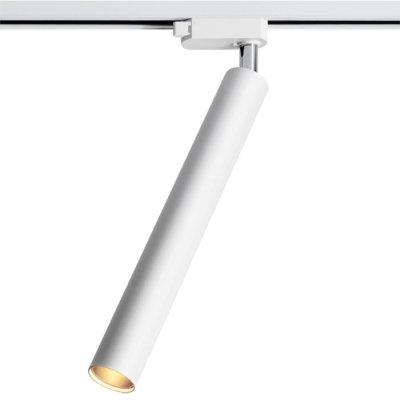 Трековый светильник Novotech 357554 MODOСветильники для трека<br><br><br>Цветовая t, К: 3000K<br>Диаметр, мм мм: 40<br>Высота, мм: 300<br>Оттенок (цвет): белый<br>MAX мощность ламп, Вт: COB 9W