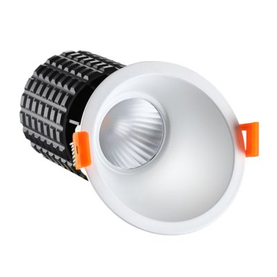Ввстраиваемый светодиодный светильник Novotech 357563 TURBINEКруглые<br><br><br>Цветовая t, К: 3000K<br>MAX мощность ламп, Вт: 15W<br>Диаметр, мм мм: 105<br>Диаметр врезного отверстия, мм: 85<br>Высота, мм: 140<br>Оттенок (цвет): белый