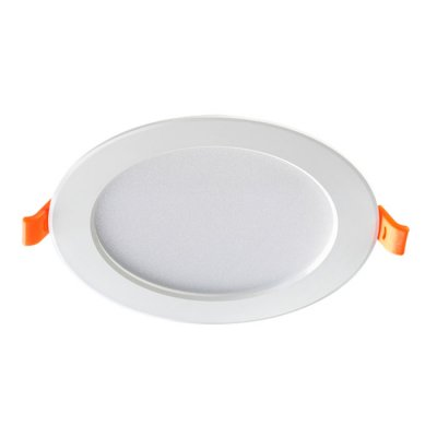 Ввстраиваемый светодиодный светильник Novotech 357572 LUNAКруглые<br><br><br>Цветовая t, К: 3000K<br>Диаметр, мм мм: 108<br>Диаметр врезного отверстия, мм: 75<br>Оттенок (цвет): белый<br>MAX мощность ламп, Вт: 14LED SMD5730 7W