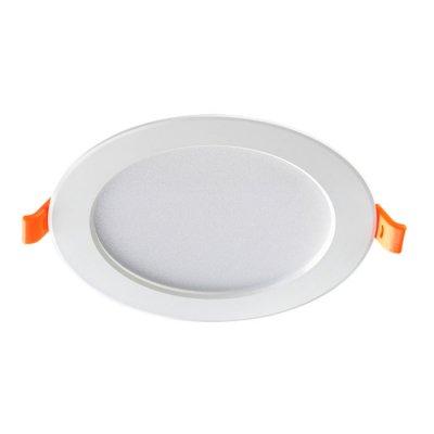 Встраиваемый светодиодный светильник Novotech 357575 LUNAКруглые<br><br><br>Цветовая t, К: 3000K<br>MAX мощность ламп, Вт: 40LED SMD5730 20W<br>Диаметр, мм мм: 190<br>Диаметр врезного отверстия, мм: 155<br>Оттенок (цвет): белый