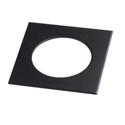 Рамка декоративная Novotech 357595 METISОжидается<br><br><br>Ширина, мм: 100<br>Диаметр врезного отверстия, мм: 70<br>Оттенок (цвет): черный