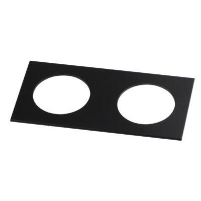 Рамка декоративная Novotech 357597 METISОжидается<br><br><br>Ширина, мм: 100<br>Диаметр врезного отверстия, мм: 70<br>Оттенок (цвет): черный