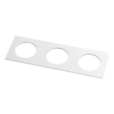 Рамка декоративная Novotech 357598 METISОжидается<br><br><br>Ширина, мм: 100<br>Диаметр врезного отверстия, мм: 70<br>Оттенок (цвет): белый