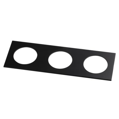Рамка декоративная Novotech 357599 METISОжидается<br><br><br>Ширина, мм: 100<br>Диаметр врезного отверстия, мм: 70<br>Оттенок (цвет): черный