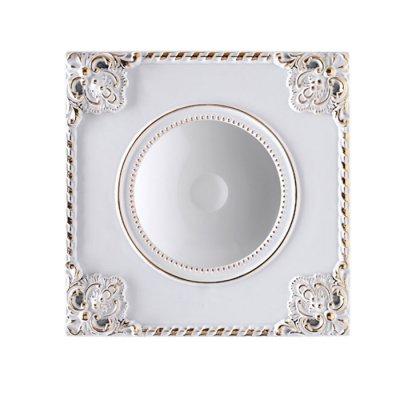 Ввстраиваемый светодиодный светильник Novotech 357614 NOVELКвадратные<br><br><br>Цветовая t, К: 3000K<br>Диаметр, мм мм: 160<br>Диаметр врезного отверстия, мм: 135<br>Оттенок (цвет): белый/золото<br>MAX мощность ламп, Вт: 9W