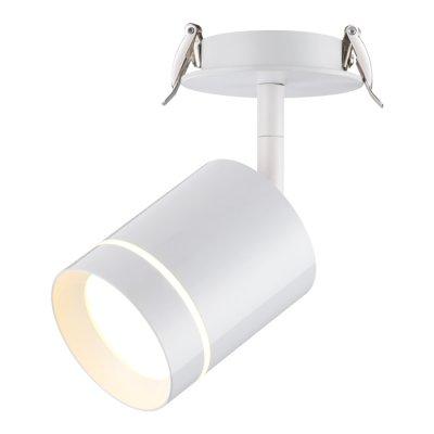 Встраиваемый светодиодный светильник Novotech 357687 ARUMОжидается<br><br><br>Цветовая t, К: 3000K<br>Диаметр, мм мм: 90<br>Диаметр врезного отверстия, мм: 75<br>Высота, мм: 165<br>Оттенок (цвет): белый<br>MAX мощность ламп, Вт: COB 9W