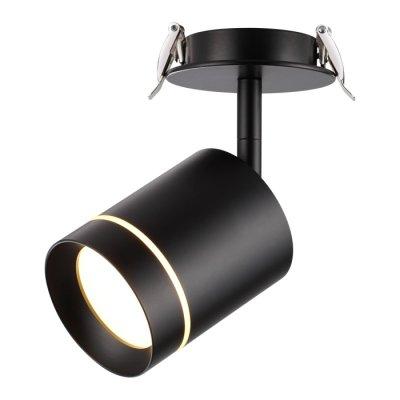 Встраиваемый светодиодный светильник Novotech 357688 ARUMОжидается<br><br><br>Цветовая t, К: 3000K<br>Диаметр, мм мм: 90<br>Диаметр врезного отверстия, мм: 75<br>Высота, мм: 165<br>Оттенок (цвет): черный<br>MAX мощность ламп, Вт: COB 9W