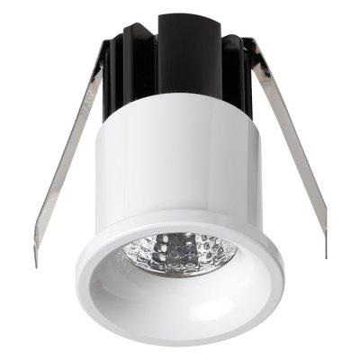 Встраиваемый светильник Novotech 357698 DOTОжидается<br><br><br>Цветовая t, К: 3000K<br>Диаметр, мм мм: 34<br>Диаметр врезного отверстия, мм: 30<br>Высота, мм: 56<br>Оттенок (цвет): белый<br>MAX мощность ламп, Вт: COB 3W