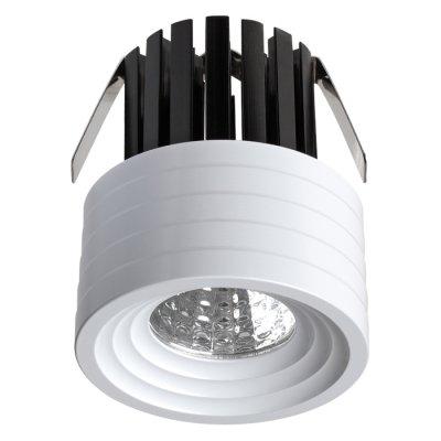 Встраиваемый светильник Novotech 357699 DOTМеталлические потолочные светильники<br><br><br>Цветовая t, К: 3000K<br>Тип лампы: LED - светодиодная<br>Тип цоколя: LED, встроенные светодиоды<br>Цвет арматуры: белый<br>Количество ламп: 1<br>Диаметр, мм мм: 41<br>Диаметр врезного отверстия, мм: 40<br>Высота, мм: 52<br>Поверхность арматуры: матовая<br>Оттенок (цвет): белый<br>MAX мощность ламп, Вт: COB 3W