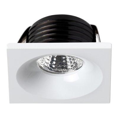 Встраиваемый светильник Novotech 357701 DOTОжидается<br><br><br>Цветовая t, К: 3000K<br>Диаметр врезного отверстия, мм: 40<br>Высота, мм: 35<br>Оттенок (цвет): белый<br>MAX мощность ламп, Вт: COB 3W