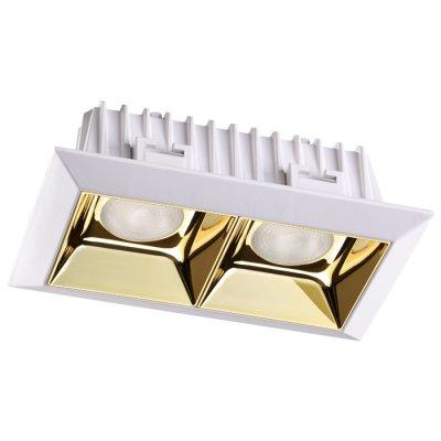 Встраиваемый светодиодный светильник Novotech 357847 ANметаллические встраиваемые светильники<br>