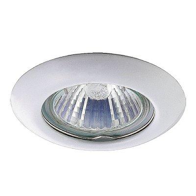 Novotech TOR 369111 Точечный встраиваемый светильникКруглые<br>Встраиваемый неповоротный светильник модели Novotech 369111 из серии TOR отличается следующим качеством: Светильник сделан из металла. Это популярный и востребованный материал благодаря ряду качеств. К ним относится: повышенная прочность, износостойкость и долговечность. Любому интерьеру он придаст солидности и завершенности, поможет расставить акценты.<br><br>S освещ. до, м2: 3<br>Тип лампы: галогенная<br>Тип цоколя: GU5.3 (MR16)<br>Количество ламп: 1<br>MAX мощность ламп, Вт: 50<br>Диаметр, мм мм: 80<br>Диаметр врезного отверстия, мм: 60<br>Высота, мм: 40<br>Цвет арматуры: белый