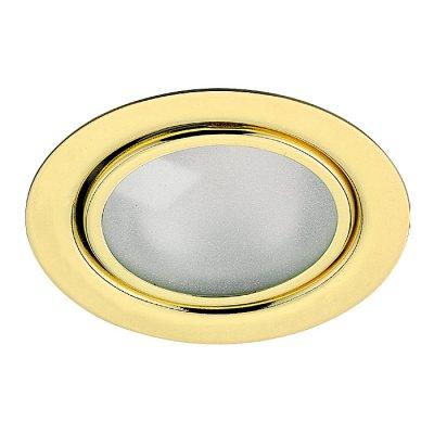 Novotech FLAT 369121 Встраиваемый светильникМебельные<br>Встраиваемый неповоротный светильник с защитным стеклом (лампа в комплекте) модели Novotech 369121 из серии FLAT отличается следующим качеством: Светильник сделан из металла. Это популярный и востребованный материал благодаря ряду качеств. К ним относится: повышенная прочность, износостойкость и долговечность. Любому интерьеру он придаст солидности и завершенности, поможет расставить акценты.<br><br>S освещ. до, м2: 2<br>Тип лампы: галогенная<br>Тип цоколя: G4<br>Количество ламп: 1<br>MAX мощность ламп, Вт: 20<br>Диаметр, мм мм: 72<br>Диаметр врезного отверстия, мм: 55<br>Высота, мм: 27<br>Цвет арматуры: Золотой