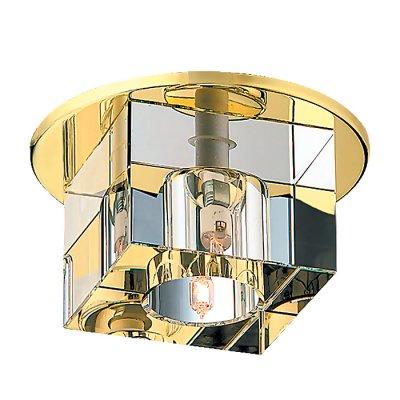 Novotech CUBIC 369261 Встраиваемый светильникКвадратные<br>Декоративный встраиваемый неповоротный светильник модели Novotech 369261 из серии CUBIC отличается следующим качеством: Основание светильника сделано из металла. Это популярный и востребованный материал благодаря ряду качеств. К ним относится: повышенная прочность, износостойкость и долговечность. Декоративный плафон произведен из хрусталя. Он обладает высоким показателем плотности, прозрачности и блеска. Благодаря содержанию свинца (не менее 30%) и определённому подбору углов, образуемых гранями, изделия из хрусталя отличаются необыкновенно яркой, многоцветной игрой света, чарующей магией красоты, совершенства и роскоши.<br><br>S освещ. до, м2: 2<br>Тип лампы: галогенная<br>Тип цоколя: G9<br>Количество ламп: 1<br>MAX мощность ламп, Вт: 40<br>Диаметр, мм мм: 110<br>Диаметр врезного отверстия, мм: 80<br>Высота, мм: 96<br>Оттенок (цвет): хрусталь<br>Цвет арматуры: Золотой