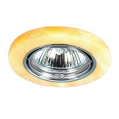 Novotech STONE 369280 Точечный встраиваемый светильникКруглые<br>Декоративный встраиваемый поворотный светильник модели Novotech 369280 из серии STONE отличается следующим качеством: Основание светильника – алюминиевое литьё. Это сплав, основными  достоинствами которого являются — устойчивость к практически всем видам негативного воздействия окружающей среды, коррозии, небольшой вес, по сравнению с другими видами металла и   экологическая безопасность материала. Декоративный плафон сделан из искусственного камня.  Этот материал отличается, без преувеличения, уникальными эксплуатационными качествами. Он прочный и долговечный, влагоустойчивый, гигиеничный (на гладкой поверхности бактерии не приживаются), термостойкий,  экологичный и лёгкий. А так же тёплый на ощупь.<br><br>S освещ. до, м2: 3<br>Тип лампы: галогенная<br>Тип цоколя: GU5.3 (MR16)<br>Количество ламп: 1<br>MAX мощность ламп, Вт: 50<br>Диаметр, мм мм: 88<br>Диаметр врезного отверстия, мм: 68<br>Высота, мм: 30<br>Оттенок (цвет): желтый<br>Цвет арматуры: серебристый