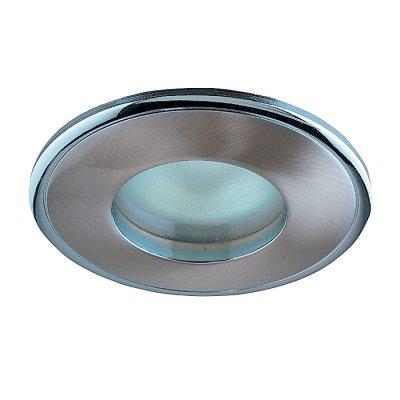 Novotech AQUA 369302 Встраиваемый светильникВ ванную<br>Встраиваемый неповоротный светильник модели Novotech 369302 из серии AQUA отличается следующим качеством: Влагозащищённый светильник. Светильник сделан из  алюминиевого литья. Это сплав, основными  достоинствами которого являются — устойчивость к практически всем видам негативного воздействия окружающей среды, коррозии, небольшой вес, по сравнению с другими видами металла и   экологическая безопасность материала.<br><br>S освещ. до, м2: 3<br>Тип лампы: галогенная<br>Тип цоколя: GU5.3 (MR16)<br>Количество ламп: 1<br>MAX мощность ламп, Вт: 50<br>Диаметр, мм мм: 85<br>Диаметр врезного отверстия, мм: 74<br>Высота, мм: 82<br>Цвет арматуры: серебристый