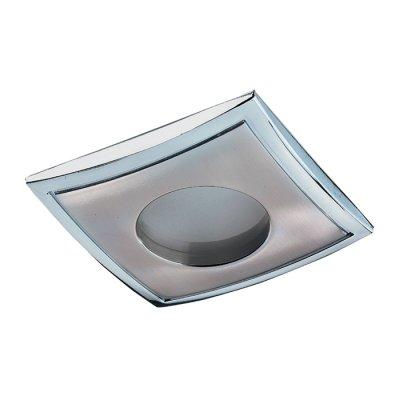 Novotech AQUA 369306 Встраиваемый светильникВлагозащищенные<br>Встраиваемый неповоротный светильник модели Novotech 369306 из серии AQUA отличается следующим качеством: Влагозащищённый светильник. Светильник сделан из  алюминиевого литья. Это сплав, основными  достоинствами которого являются — устойчивость к практически всем видам негативного воздействия окружающей среды, коррозии, небольшой вес, по сравнению с другими видами металла и   экологическая безопасность материала.<br><br>S освещ. до, м2: 3<br>Тип лампы: галогенная<br>Тип цоколя: GU5.3 (MR16)<br>Количество ламп: 1<br>Ширина, мм: 82<br>MAX мощность ламп, Вт: 50<br>Диаметр врезного отверстия, мм: 74<br>Длина, мм: 82<br>Высота, мм: 85<br>Цвет арматуры: серебристый