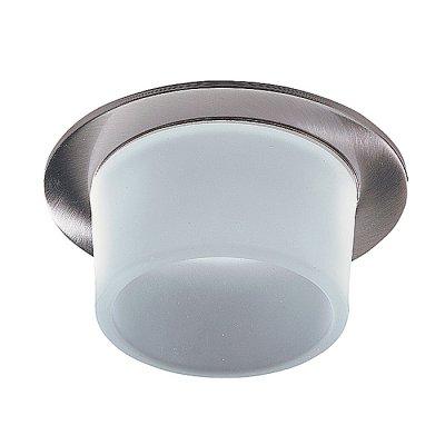 Novotech RAINBOW 369332 Встраиваемый светильникКруглые<br>Декоративный встраиваемый светильник модели Novotech 369332 из серии RAINBOW отличается следующим качеством: Основание светильника – алюминиевое литьё. Это лёгкий сплав, основными  достоинствами которого являются — устойчивость к практически всем видам негативного воздействия окружающей среды, коррозии, небольшой вес, по сравнению с другими видами металла и   экологическая безопасность материала. Декоративный  плафон произведен из стекла. Стекло экологично,  не тускнеет и не меняет своего оттенка со временем, не покрывается некрасивым налетом и легко выдерживает перепады температур.<br><br>S освещ. до, м2: 3<br>Тип лампы: галогенная<br>Тип цоколя: GU5.3 (MR16)<br>Количество ламп: 1<br>MAX мощность ламп, Вт: 50<br>Диаметр, мм мм: 80<br>Диаметр врезного отверстия, мм: 65<br>Высота, мм: 89<br>Оттенок (цвет): белый<br>Цвет арматуры: серебристый