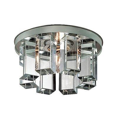 Novotech CARAMEL 3 369356 Встраиваемый светильникКруглые<br>Декоративный встраиваемый светильник модели Novotech 369356 из серии CARAMEL 3 отличается следующим качеством: Основание светильника сделано из металла. Это популярный и востребованный материал благодаря ряду качеств. К ним относится: повышенная прочность, износостойкость и долговечность. Декоративный плафон произведён из оптического стекла. От обычного стекла оптическое, отличается особенно высокой прозрачностью, чистотой, бесцветностью, однородностью, а также строго нормированными преломляющей способностью, дисперсией, в необходимых случаях - цветом.<br><br>S освещ. до, м2: 2<br>Тип лампы: галогенная<br>Тип цоколя: G9<br>Цвет арматуры: серебристый<br>Количество ламп: 1<br>Диаметр, мм мм: 105<br>Диаметр врезного отверстия, мм: 50<br>Высота, мм: 70<br>Оттенок (цвет): прозрачный<br>MAX мощность ламп, Вт: 40