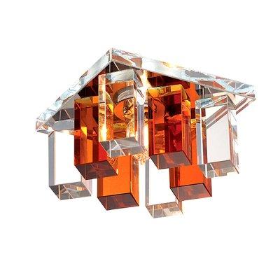 Novotech CARAMEL 2 369368 Встраиваемый светильникКвадратные<br>Декоративный встраиваемый светильник модели Novotech 369368 из серии CARAMEL 2 отличается следующим качеством: Основание светильника сделано из металла. Это популярный и востребованный материал благодаря ряду качеств. К ним относится: повышенная прочность, износостойкость и долговечность. Декоративный плафон произведён из оптического стекла. От обычного стекла оптическое, отличается особенно высокой прозрачностью, чистотой, бесцветностью, однородностью, а также строго нормированными преломляющей способностью, дисперсией, в необходимых случаях - цветом.                                                                    . . .<br><br>S освещ. до, м2: 2<br>Тип лампы: галогенная<br>Тип цоколя: G9<br>Количество ламп: 1<br>Ширина, мм: 85<br>MAX мощность ламп, Вт: 40<br>Диаметр врезного отверстия, мм: 55<br>Длина, мм: 85<br>Высота, мм: 70<br>Оттенок (цвет): прозрачно-янтарный<br>Цвет арматуры: серебристый