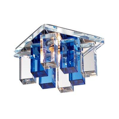 Novotech CARAMEL 2 369370 Встраиваемый светильникКвадратные<br>Декоративный встраиваемый светильник модели Novotech 369370 из серии CARAMEL 2 отличается следующим качеством: Основание светильника сделано из металла. Это популярный и востребованный материал благодаря ряду качеств. К ним относится: повышенная прочность, износостойкость и долговечность. Декоративный плафон произведён из оптического стекла. От обычного стекла оптическое, отличается особенно высокой прозрачностью, чистотой, бесцветностью, однородностью, а также строго нормированными преломляющей способностью, дисперсией, в необходимых случаях - цветом.<br><br>S освещ. до, м2: 2<br>Тип лампы: галогенная<br>Тип цоколя: G9<br>Цвет арматуры: серебристый<br>Количество ламп: 1<br>Ширина, мм: 85<br>Диаметр врезного отверстия, мм: 55<br>Длина, мм: 85<br>Высота, мм: 70<br>Оттенок (цвет): голубой<br>MAX мощность ламп, Вт: 40