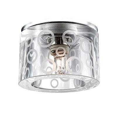 Novotech FAY 369801 Встраиваемый светильникКруглые<br>Декоративный встраиваемый светильник модели Novotech 369801 из серии FAY отличается следующим качеством: Основание светильника сделано из металла. Это популярный и востребованный материал благодаря ряду качеств. К ним относится: повышенная прочность, износостойкость и долговечность. Декоративный плафон произведен из хрусталя. Он обладает высоким показателем плотности, прозрачности и блеска. Благодаря содержанию свинца (не менее 30%) и определённому подбору углов, образуемых гранями, изделия из хрусталя отличаются необыкновенно яркой, многоцветной игрой света, чарующей магией красоты, совершенства и роскоши.<br><br>S освещ. до, м2: 2<br>Тип лампы: галогенная<br>Тип цоколя: G9<br>MAX мощность ламп, Вт: 40<br>Диаметр, мм мм: 80<br>Диаметр врезного отверстия, мм: 45<br>Расстояние от стены, мм: 55<br>Высота, мм: 80<br>Цвет арматуры: серебристый