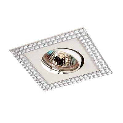 Novotech MIRROR 369837 Точечный встраиваемый светильникКвадратные<br>Декоративный встраиваемый светильник модели Novotech 369837 из серии MIRROR отличается следующим качеством: Светильник сделан из металла. Это популярный и востребованный материал благодаря ряду качеств. К ним относится: повышенная прочность, износостойкость и долговечность. Любому интерьеру он придадаст солидности и завершенности, поможет расставить акценты.<br><br>Тип лампы: галогенная<br>Тип цоколя: GU5.3 (MR16)<br>Ширина, мм: 103<br>MAX мощность ламп, Вт: 50<br>Диаметр врезного отверстия, мм: 70<br>Длина, мм: 103<br>Высота, мм: 26<br>Оттенок (цвет): зеркальный<br>Цвет арматуры: белый