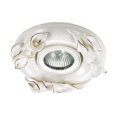 Novotech FARFOR 370038 Встраиваемый светильникКруглые<br>Декоративный встраиваемый светильник модели Novotech 370038 из серии FARFOR отличается следующим качеством: Светильник сделан из фарфора. Основным его преимуществом является то, что  со временем он не теряет таких своих качеств, как крепость, плотность, прочность, блеск и полупрозрачность. Не подвластен фарфор и коррозии.<br><br>S освещ. до, м2: 3<br>Тип лампы: галогенная/LED<br>Тип цоколя: GU5.3 (MR16)<br>Цвет арматуры: серебристый<br>Количество ламп: 1<br>Диаметр, мм мм: 120<br>Диаметр врезного отверстия, мм: 70<br>Высота, мм: 20<br>MAX мощность ламп, Вт: 50