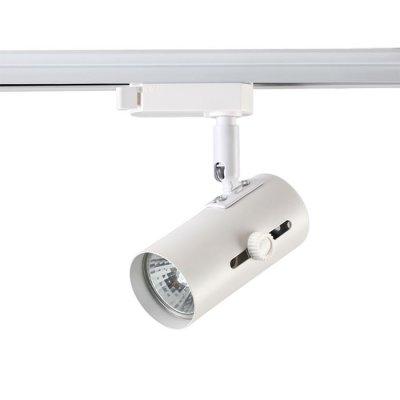 Трековый светильник Novotech 370362 PIPEОжидается<br><br><br>Тип цоколя: GU10<br>Диаметр, мм мм: 51<br>Высота, мм: 158<br>Оттенок (цвет): белый<br>MAX мощность ламп, Вт: 50W