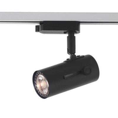 Трековый светильник Novotech 370363 PIPEСветильники для трека<br><br><br>Тип цоколя: GU10<br>Диаметр, мм мм: 51<br>Высота, мм: 158<br>Оттенок (цвет): черный<br>MAX мощность ламп, Вт: 50W