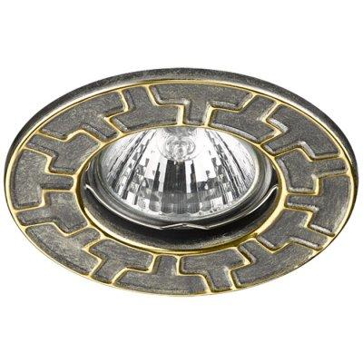Встраиваемый светильник Novotech 370384 KEENМеталлические потолочные светильники<br><br><br>Тип лампы: галогенная/LED - светодиодная<br>Тип цоколя: GX5.3<br>Цвет арматуры: бронзовый/золотой<br>Количество ламп: 1<br>Диаметр, мм мм: 90<br>Диаметр врезного отверстия, мм: 60<br>Поверхность арматуры: матовая<br>Оттенок (цвет): бронза/золото<br>MAX мощность ламп, Вт: 50W