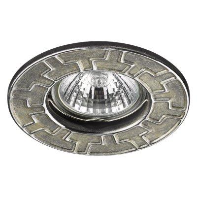 Встраиваемый светильник Novotech 370385 KEENМеталлические<br><br><br>Тип лампы: галогенная/LED - светодиодная<br>Тип цоколя: GX5.3<br>Цвет арматуры: серебристый<br>Количество ламп: 1<br>Диаметр, мм мм: 90<br>Диаметр врезного отверстия, мм: 60<br>Поверхность арматуры: матовая<br>Оттенок (цвет): серебро/хром<br>MAX мощность ламп, Вт: 50W