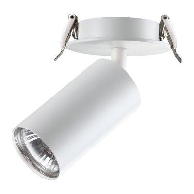Встраиваемый светильник Novotech 370393 PIPEОжидается<br><br><br>Тип цоколя: GU10<br>Диаметр, мм мм: 90<br>Диаметр врезного отверстия, мм: 75<br>Высота, мм: 150<br>Оттенок (цвет): белый<br>MAX мощность ламп, Вт: 50W