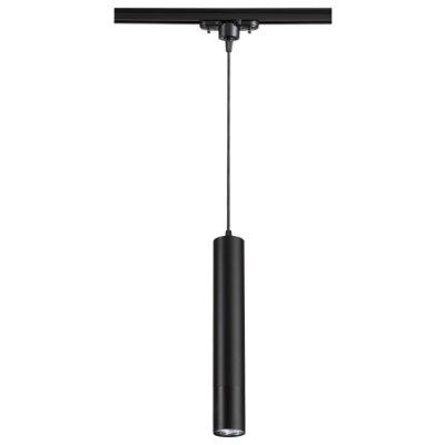 Подвес трековый Novotech 370401 PIPEОжидается<br><br><br>Тип цоколя: GU10<br>Диаметр, мм мм: 50<br>Высота, мм: 340<br>Оттенок (цвет): черный<br>MAX мощность ламп, Вт: 50W