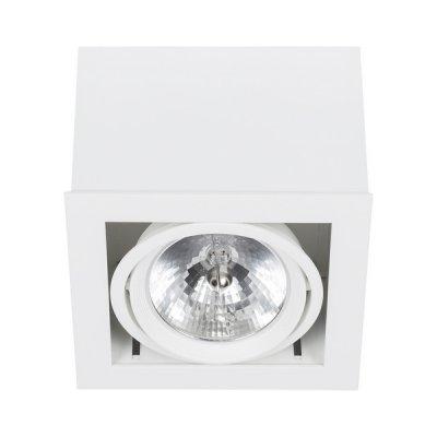 Купить со скидкой Светильник встраиваемый Nowodvorski BOX WHITE - WHITE 6455