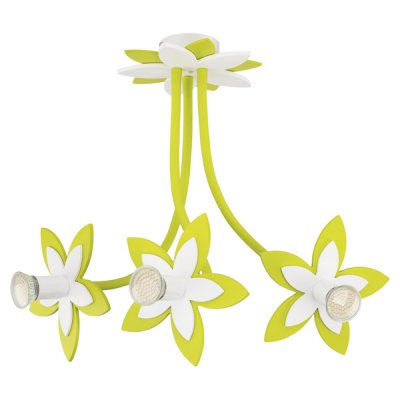 Купить со скидкой Люстра потолочная Nowodvorski FLOWERS GREEN III 6898