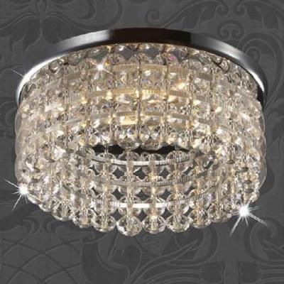 Светильник Novotech 369441 хром Pearl RoundХрустальные<br><br><br>S освещ. до, м2: 2<br>Тип товара: Встраиваемый светильник<br>Тип лампы: галогенная<br>Тип цоколя: GU5.3 (MR16)<br>MAX мощность ламп, Вт: 50<br>Диаметр, мм мм: 82<br>Диаметр врезного отверстия, мм: 60<br>Высота, мм: 65<br>Оттенок (цвет): прозрачный<br>Цвет арматуры: серебристый