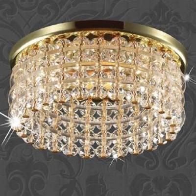 Светильник Novotech 369442 золото Pearl RoundХрустальные<br><br><br>S освещ. до, м2: 2<br>Тип товара: Встраиваемый светильник<br>Тип лампы: галогенная<br>Тип цоколя: GU5.3 (MR16)<br>MAX мощность ламп, Вт: 50<br>Диаметр, мм мм: 82<br>Диаметр врезного отверстия, мм: 60<br>Высота, мм: 65<br>Оттенок (цвет): прозрачный<br>Цвет арматуры: Золотой
