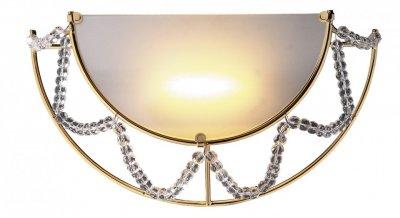 Купить со скидкой Светильник Odeon Light 1424/1W золото/хрусталь Gota