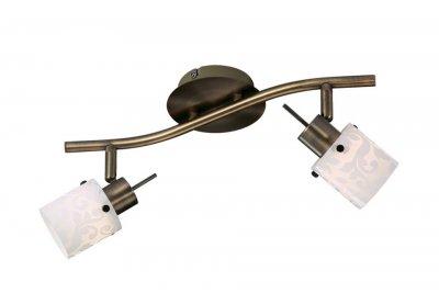 Светильник Odeon light 2077/2W Terbo бронзаДвойные<br>Светильники-споты – это оригинальные изделия с современным дизайном. Они позволяют не ограничивать свою фантазию при выборе освещения для интерьера. Такие модели обеспечивают достаточно качественный свет. Благодаря компактным размерам Вы можете использовать несколько спотов для одного помещения. <br>Интернет-магазин «Светодом» предлагает необычный светильник-спот Odeon light 2077/2W  по привлекательной цене. Эта модель станет отличным дополнением к люстре, выполненной в том же стиле. Перед оформлением заказа изучите характеристики изделия. <br>Купить светильник-спот Odeon light 2077/2W  в нашем онлайн-магазине Вы можете либо с помощью формы на сайте, либо по указанным выше телефонам. Обратите внимание, что мы предлагаем доставку не только по Москве и Екатеринбургу, но и всем остальным российским городам.<br><br>S освещ. до, м2: 5<br>Тип лампы: галогенная / LED-светодиодная<br>Тип цоколя: G9<br>Цвет арматуры: бронзовый<br>Количество ламп: 2<br>Ширина, мм: 410<br>Расстояние от стены, мм: 135<br>Высота, мм: 135<br>MAX мощность ламп, Вт: 40