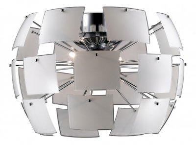 Люстра Odeon light 2655/4Cлюстры хай тек потолочные<br>Практичность в освещении – современный подход в наполнении интерьера! В этом вопросе советуем обратить внимание на потолочную люстру Odeon light 2655/4C, созданную в стиле хай-тек. Изделие символизирует стильный минимализм в тандеме с максимальным свечением. Здесь нет ничего лишнего, исключается вычурность дизайна и многосложность конструкций. Округлая форма потолочной люстры Odeon light 2655/4C создана из нескольких белоснежных квадратов, которые никак не перекрывают свет. Четыре источника сияния обогатят необходимыми лучами любое интерьерное пространство. Все детали светильника созданы из современных материалов по новейшим технологиям. Стильный дизайн, простая геометрия и выверенный минимализм делают потолочную люстру Odeon light 2655/4C универсальной для каждого интерьера.