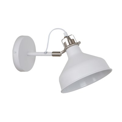 Светильник Odeon light 3331/1WНа штанге<br><br><br>Тип лампы: Накаливания / энергосбережения / светодиодная<br>Тип цоколя: E27<br>Количество ламп: 1<br>Ширина, мм: 190<br>MAX мощность ламп, Вт: 60<br>Высота, мм: 210