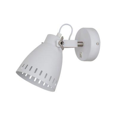 Светильник Odeon light 3333/1WОдиночные<br><br><br>Тип лампы: Накаливания / энергосбережения / светодиодная<br>Тип цоколя: E27<br>Количество ламп: 1<br>Ширина, мм: 120<br>MAX мощность ламп, Вт: 60<br>Высота, мм: 225