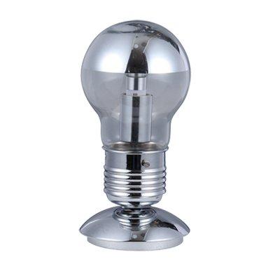 Светильник Odeon light 3351/1TХай тек<br><br><br>Тип лампы: Накаливания / энергосбережения / светодиодная<br>Тип цоколя: E27<br>Количество ламп: 1<br>MAX мощность ламп, Вт: 60<br>Диаметр, мм мм: 125<br>Высота, мм: 235
